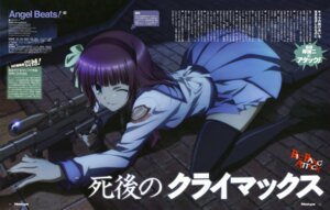 Rating: Safe Score: 42 Tags: angel_beats! gun seifuku sekiguchi_kanami thighhighs yurippe User: Radioactive