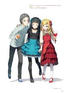 Rating: Safe Score: 12 Tags: dress imouto_sae_ireba_ii. kantoku lolita_fashion pantyhose User: kiyoe