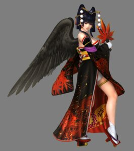 Rating: Safe Score: 20 Tags: cg cleavage dead_or_alive dead_or_alive_5 garter japanese_clothes nyotengu transparent_png wings User: Yokaiou