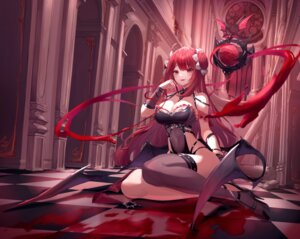 Rating: Safe Score: 74 Tags: cleavage erze_(king's_raid) heels king's_raid munseonghwa tagme tail thighhighs weapon wings User: BattlequeenYume