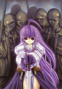 Rating: Safe Score: 11 Tags: armor aselia_bluespirit dress eien_no_aselia hitomaru sword xuse User: TBFGETTA