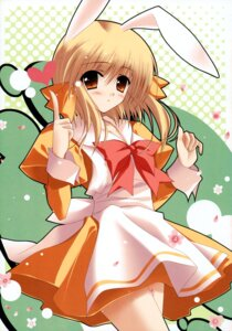 Rating: Safe Score: 18 Tags: animal_ears bunny_ears greenwood mikan zinno User: midzki
