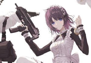 Rating: Safe Score: 22 Tags: eichi_(pixiv35286171) gun maid User: BattlequeenYume