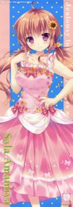 Rating: Safe Score: 23 Tags: amamiya_sara dress hime_to_otome_no_yakimochi_love mikeou princess_sugar User: DDD
