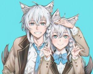 Rating: Safe Score: 6 Tags: animal_ears genderswap hajime_wataru hololive seifuku shirakami_fubuki tail User: charunetra