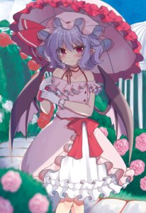 Rating: Safe Score: 17 Tags: beni_kurage dress pointy_ears remilia_scarlet touhou umbrella wings User: yanis