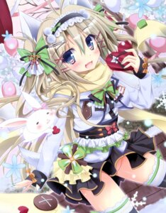 Rating: Questionable Score: 64 Tags: animal_ears castella_milk nopan tail thighhighs valentine User: SweetLemonade