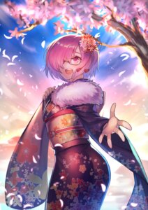 Rating: Safe Score: 39 Tags: ass fate/grand_order hrtyuk kimono mash_kyrielight megane User: charunetra