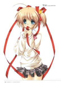 Rating: Safe Score: 9 Tags: hinoue_itaru kamikita_komari key little_busters! seifuku User: admin2