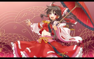 Rating: Safe Score: 22 Tags: hakurei_reimu musouzuki touhou wallpaper User: 椎名深夏