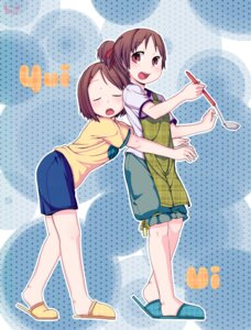 Rating: Safe Score: 8 Tags: hirasawa_ui hirasawa_yui k-on! muku_(muku-coffee) User: Silvance