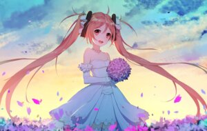 Rating: Safe Score: 74 Tags: aihara_enju black_bullet dress thank_star thighhighs wedding_dress User: Mr_GT