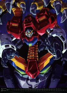 Rating: Safe Score: 15 Tags: calendar g_gundam gundam mecha ootsuka_ken User: drop