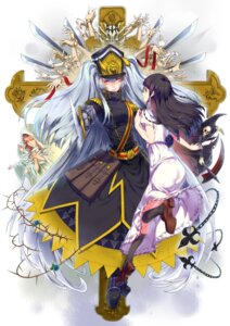 Rating: Safe Score: 19 Tags: altair_(re:creators) armor dress malatutu megane november_11 re:creators shimazaki_setsuna sword uniform User: charunetra