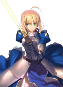 Rating: Safe Score: 76 Tags: armor fate/stay_night fate/zero saber sword takeuchi_takashi type-moon User: RanceMaster