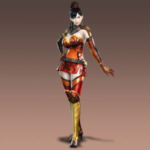 Rating: Safe Score: 25 Tags: cg dynasty_warriors heels lian_shi thighhighs User: 1z2x1z