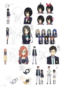 Rating: Safe Score: 12 Tags: character_design digital_version heels kasuga_ayumu_(artist) megane seifuku sketch User: fireattack