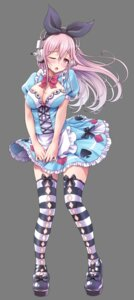 Rating: Safe Score: 21 Tags: cleavage headphones mag_kan skirt_lift sonico super_sonico thighhighs transparent_png v-mag User: emtec