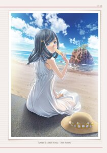 Rating: Safe Score: 9 Tags: dress mino_taro root_letter summer_dress User: saemonnokami