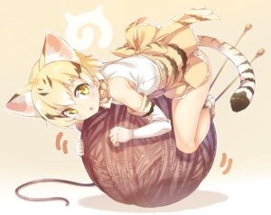 Rating: Safe Score: 85 Tags: animal_ears ichi_makoto kemono_friends sand_cat tail User: edogawaconan