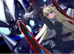 Rating: Safe Score: 22 Tags: akaga_hirotaka arcana_heart mecha weiss User: meemeeshion