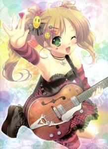 Rating: Safe Score: 44 Tags: lolita_fashion mitsumomo_mamu thighhighs User: midzki