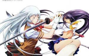 Rating: Questionable Score: 31 Tags: chouun_shiryuu ikkitousen ikkitousen~valiant_venus~ kanu_unchou rin_sin seifuku sword weapon User: Radioactive