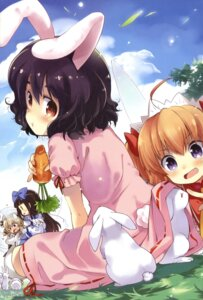 Rating: Safe Score: 21 Tags: animal_ears bunny_ears inaba_tewi luna_child star_sapphire sunny_milk tontoro touhou User: Radioactive