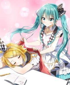 Rating: Safe Score: 16 Tags: dress hatsune_miku kagamine_rin pentagon_(railgun_ky1206) project_sekai_colorful_stage! vocaloid User: Mr_GT