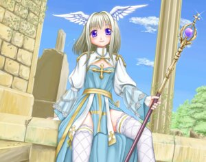 Rating: Safe Score: 9 Tags: archbishop kahis ragnarok_online thighhighs User: fairyren