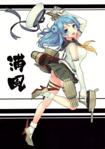 Rating: Safe Score: 74 Tags: ass gun heels kantai_collection neko_works sayori urakaze_(kancolle) User: yong