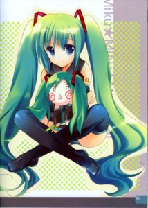 Rating: Safe Score: 15 Tags: hatsune_miku pantsu rei rei's_room shimapan tattoo thighhighs vocaloid User: Davison