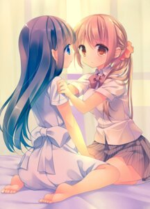 Rating: Safe Score: 69 Tags: feet seifuku totsuka yuri User: 椎名深夏