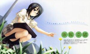 Rating: Safe Score: 32 Tags: fixed hashimoto_takashi megane seifuku sphere yorihime_nao yosuga_no_sora User: MosquitoJack