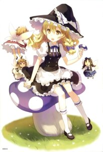 Rating: Safe Score: 40 Tags: fairy h2so4 kirisame_marisa luna_child star_sapphire sunny_milk touhou wings witch User: sxxiaoou