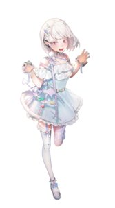 Rating: Questionable Score: 8 Tags: dress horns ohisashiburi pointy_ears stockings tail thighhighs User: Dreista