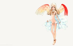 Rating: Questionable Score: 12 Tags: bikini littlewitch oyari_ashito sepha shoujo_mahou_gaku_little_witch_romanesque swimsuits wallpaper wings User: fireattack