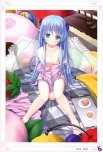 Rating: Questionable Score: 58 Tags: breasts kazami_haruki loli no_bra pajama undressing User: crim