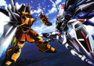 Rating: Safe Score: 16 Tags: freedom_gundam gundam gundam_seed gundam_seed_destiny mecha sword weapon wings User: drop