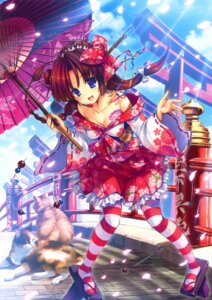 Rating: Safe Score: 49 Tags: cleavage lolita_fashion misakura_nankotsu neko pantyhose wa_lolita User: WtfCakes