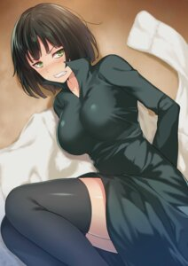 Rating: Questionable Score: 62 Tags: cccpo dress fubuki_(one_punch_man) one_punch_man thighhighs User: mash