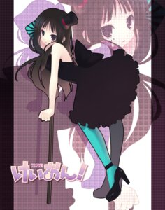 Rating: Safe Score: 27 Tags: akiyama_mio dress k-on! nana_mikoto pantyhose User: yumichi-sama