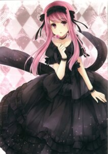 Rating: Safe Score: 42 Tags: dress gothic_lolita hagiwara_rin lolita_fashion User: Radioactive