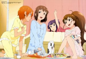 Rating: Safe Score: 46 Tags: inami_mahiru pajama takanashi_nazuna taneshima_poplar tsuchiya_yuuta working!! yamada_aoi User: Elow69