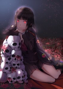 Rating: Safe Score: 37 Tags: enma_ai jigoku_shoujo seifuku ye_zi_you_bei_jiao_ju_ge User: charunetra