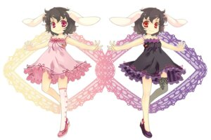 Rating: Safe Score: 5 Tags: animal_ears bunny_ears dress inaba_tewi sokomushi touhou User: yumichi-sama