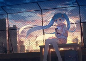 Rating: Safe Score: 64 Tags: hatsune_miku thighhighs vocaloid yue_yue User: Mr_GT