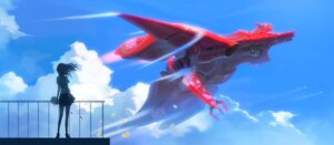 Rating: Safe Score: 30 Tags: ladic landscape mecha seifuku User: Radioactive