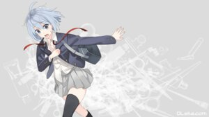 Rating: Safe Score: 25 Tags: dlsite.com paseri seifuku thighhighs wallpaper User: Ricetaffy