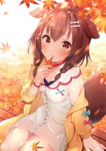 Rating: Safe Score: 72 Tags: animal_ears cleavage dress hololive inugami_korone inumimi nari_(narikashi) tail User: BattlequeenYume